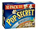 Pop Secret Homestyle Flavor, Microwavable Popcorn, 10-Count, 35-Ounce Box (Pack of 2)