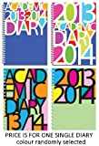 Office Product - 2013-2014 academic A5 wiro bound week to view diary - avant garde designs