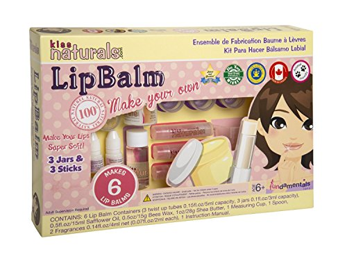 DIY Lip Balm Making Kit by Kiss Naturals (Makeup Making Kit compare prices)