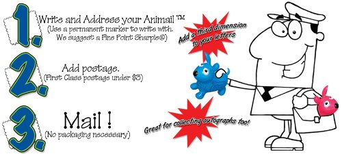 AniMails Mini Wahoo - Blue - 1