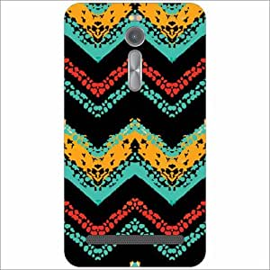 Asus ZenFone 2 ZE551ML Back Cover - Triangled Print Designer Cases