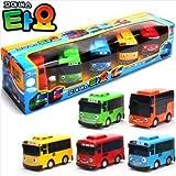 Tayo Little Bus Wind Up Toys, 5 Pieces (Tayo, Rogi, Gani, Rani, and Cito)