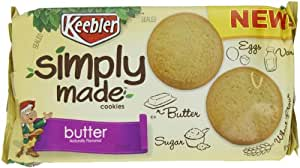Keebler Simply Made Cookies, Butter, 10 Ounce