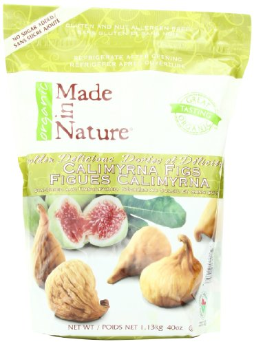 Made From Nature Brand Dried Figs
