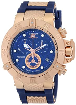 Invicta Men's 15804 Subaqua Analog Display Swiss Quartz Blue Watch