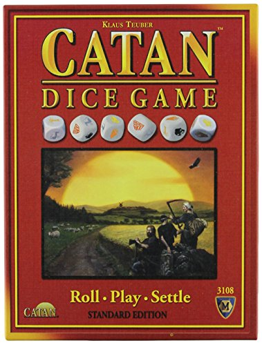 Die Siedler von Catan-Würfelspiel (in englischer Sprache)