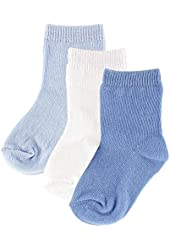 3-Pack Fashion Socks for Baby