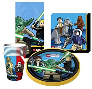 Lego Star Wars Birthday Party Supplies Ideas