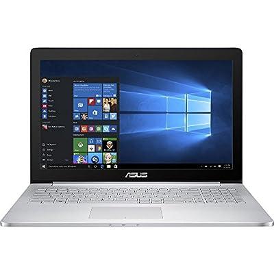 ASUS UX501VW 15.6-inch Touchscreen Laptop Computer (i7-6700HQ / 24GB RAM / 512GB SSD / GTX 960M 2GB / UHD 3840 x 2160 / Killer 1535 AC Wireless / Windows 10)