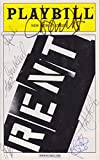 Rent signed Playbill