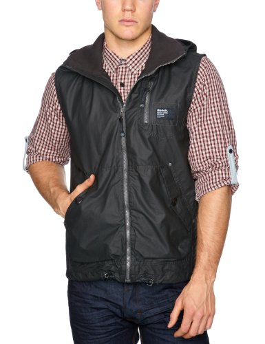 Bench Engineer Men's Gilet Black Medium
