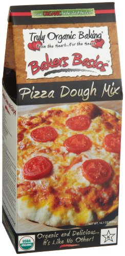 Truly Organic Baking Bakers Basics Organic Pizza Dough Mix 16 1 Ounce Boxes Pack of 3