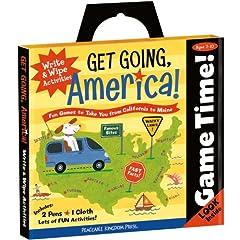 Get Going! America Write & Wipe Activity Book