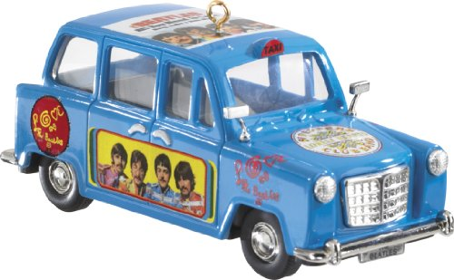 Carlton Heirloom Series Ornament 2013 The Beatles #2 - Let it Be Taxi - #CXOR046D