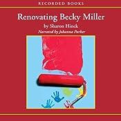 Renovating Becky Miller   Sharon Hinck