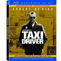 Taxi Driver  (Mastered in 4K) (Single-Disc Blu-ray + Ultra Violet Digital Copy)