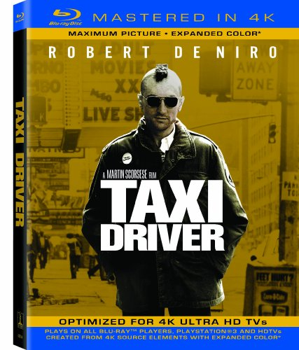 Taxi Driver (Mastered in 4K) (Single-Disc Blu-ray + UltraViolet Digital Copy)
