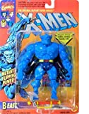 Vintage Marvel X-Men 'Beast' action figure (Toybiz 1994)