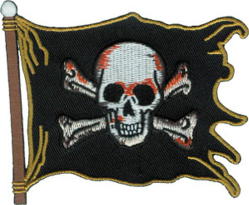 Application Pirate Flag Patch