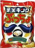 味覚糖 果実キングぷっちょ袋 80g×6個