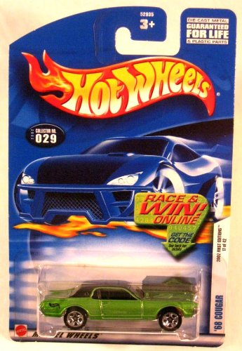 Hot Wheels - '68 Cougar 2002 First Editions 17 of 42