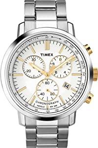 Timex Men's Quartz Watch T2N558 with Metal Strap