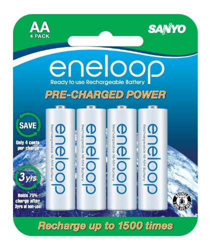 eneloop NEW 2000mAh Typical, 1900mAh Minimum,