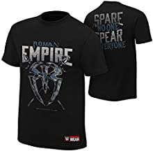 WWE - Roman Reigns - Roman Empire Spare No One, Spear Everyone AUTHENTIC T-SHIRT