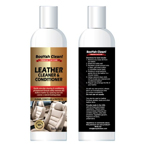Best Leather Cleaner : Booyah clean leather cleaner by detail doctor