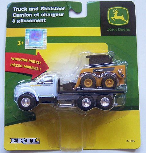 John Deere Truck and Skidsteer - 1