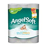 Angel Soft Double Roll Bath Tissue, 12 Count