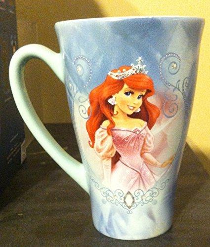 Disney Ariel Little Mermaid Tall Ceramic 16 Oz Coffee Mug