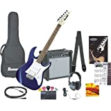 IJX40 Electric Guitar Jumpstart Package (JEWEL BLUE)