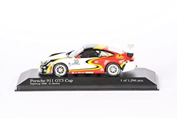 Minichamps DP 1/43 Porsche 911 GT3 (No.10 / Super Cup 2006) (japan import)