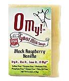 O My!Tm Black Raspberry Vanilla Goat Milk Soap All Natural, Palm Oil Free, Handmade Soap Made In Usa