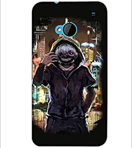 PrintDhaba Funny Image D-3828 Back Case Cover for HTC ONE M7 (Multi-Coloured)