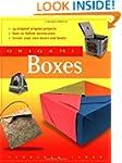 Origami Boxes: [Origami Book, 24 Proj...