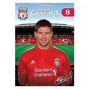 Steven Gerrard Squad Photo 1011 by Liverpool FC