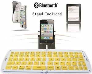 TOP Quality 2.4G Mini Wireless keyboard for Android, Wireless Keyboard for Tablet PC, Mini Bluetooth Keyboard for Android, Tablet PC Bluetooth Keyboard, Wireless Bluetooth Keyboard in Yellow