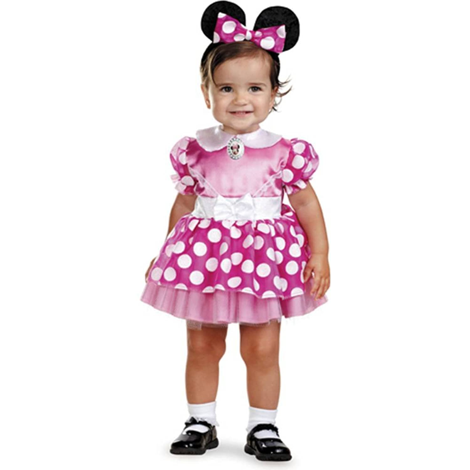 Clubhouse Minnie Mouse Pink Pink Minnie Mouse Infant