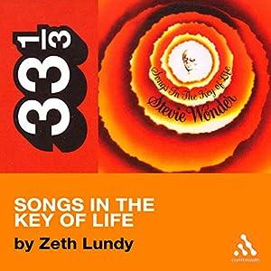 Stevie Wonder's Songs in the Key of Life (33 1/3 Series) Hörbuch