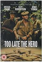 Too Late The Hero [DVD] [1969]