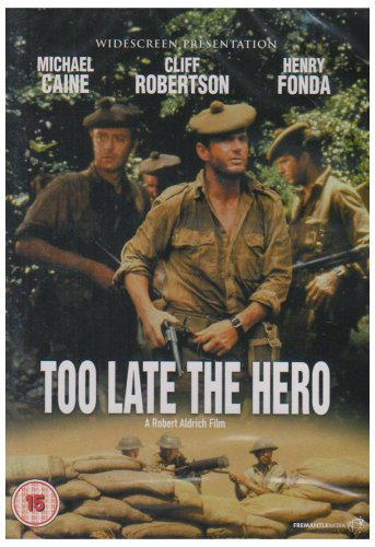 Too Late The Hero [DVD] [1969]