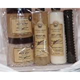 Tuscan Hills 6 Piece Kit Contains: Body Scrub Bath Salt Shower Gel And Body Lotion
