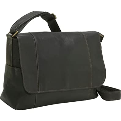 Black Leather Over The Shoulder Bags 75