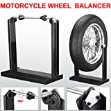 Beyondfashion Professional 40cm x 20cm x 42cm Motorcycle Wheel Balancer/Balancing Stand Bike/Motorbike Race Track Day Paddock