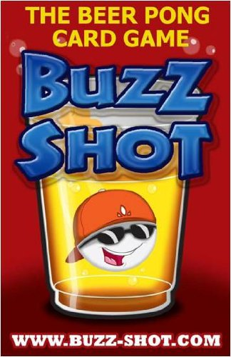 "Buzz Shot - The ""Official"" Beer Pong Card Game Deck"