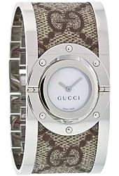 GUCCI Women's YA112418 Twirl Bangle Quartz Watch
