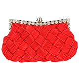 Cathriem Women's Clutch (Red)