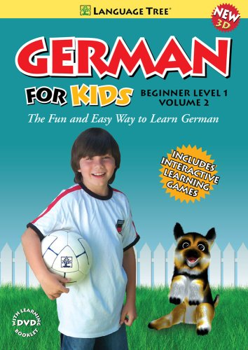 German for Kids: Learn German Beginner Level 1 Vol. 2 (w/booklet)